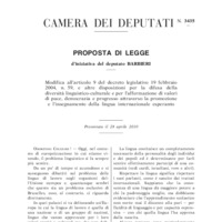 Modifica all&#039;articolo 9 del decreto legislativo 19 febbraio<br /><br />