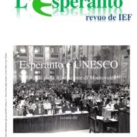 L'esperanto (anno 2016 - numero speciale)