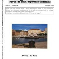L'esperanto (anno 2001 - numero 4)