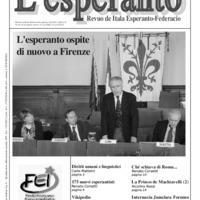 L'esperanto (anno 2008 - numero 6)