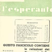 L'esperanto (anno 1953 - numeri 4/5 - 22/23 nuova serie)