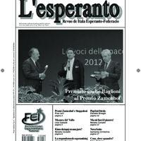 L'esperanto (anno 2012 - numero 6)
