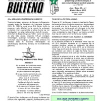 Informa Bulteno (marzo 2013)