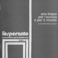 L'esperanto (anno 1982 - numero 3)