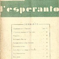 L'esperanto (anno 1950 - numero 2 - 2 nuova serie)