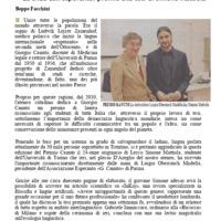 La sfida dell'esperanto: premio alla tesi di Simone Mattiola