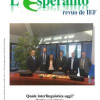 L'esperanto (anno 2018 - numero speciale)