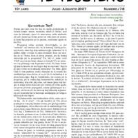 TEA-Bulteno (07/08, 10a jaro)