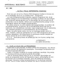 La Fervojisto (1952-07)