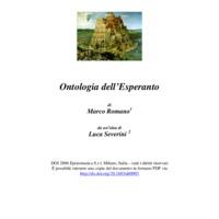 Ontologia dell'Esperanto