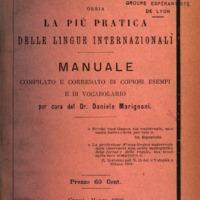 Esperanto ossia la più pratica delle lingue internazionali