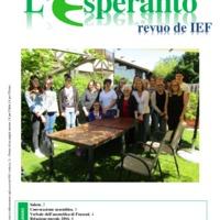 L'esperanto (anno 2017 - Plenkunsida Informa-Bulteno)